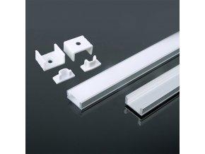 18851 vt 8113 w aluminum pcb 12mm profile 2000 17 4mm 7mm white housing
