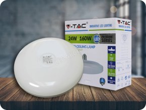 E27 Led Žárovka 24W Ufo Lampa (Barva světla Studená bílá)