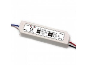 18938 vt 22075 75w led plastic slim power supply 12v ip67