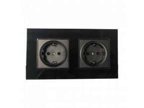 19328 vt 5811 eu socket 16a 2 way black