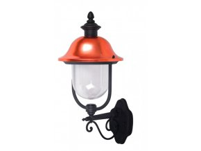 19406 vt 853 wall lamp 1 e27 with clear pc cover up