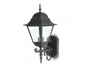 19418 vt 761 wall lamp large matt black up
