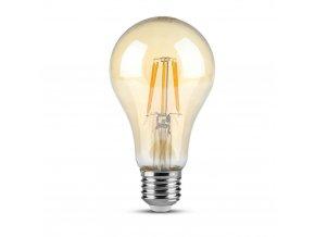E27 LED Filament žárovka 4W (350Lm), A60, 2200K