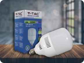 E27 Led Žárovka 20W (Barva světla Studená bílá)