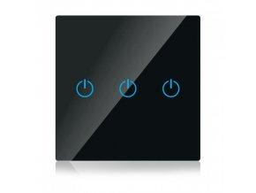 20357 dotykovy 3 tlacitkovy inteligentni vypinac wifi kompatibilni s amazon alexa google home