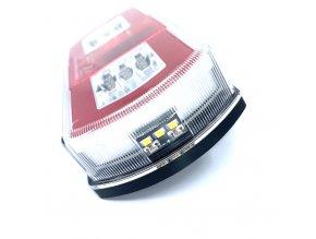 Zadní 27xLED světlo na kamion, 12-24V, levé
