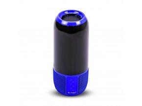 Bluetooth Reproduktor s RGB+W LED světlem, modrý