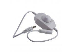 Stmívač pro LED pásy mechanický DM1-B 12-24V bílý  + Zdarma záruka okamžité výměny!