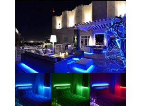 LED pás do interiéru 10W, RGB+W, 60 LED, WIFI kompatibilní s AMAZON ALEXA + GOOGLE HOME