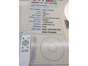 LED Smart stropní lampa s reproduktorem