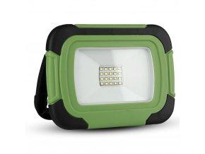 10W LED přenosný reflektor + SOS funkce, nabíjecí (700Lm), SAMSUNG chip, 6400K