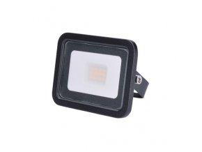 21005 2 led reflektor eco 10w 650lm 4000k cerny