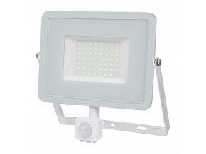 50W LED reflektor se senzorem SMD, SAMSUNG chip, bílý (Barva světla Studená bílá)