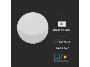 LED noční světlo 0,45W do zásuvky, kruhové, SAMSUNG chip