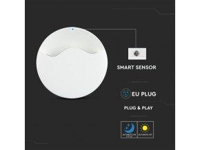 LED noční světlo 0,5W do zásuvky, kruhové, SAMSUNG chip