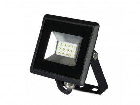 10W LED reflektor E-Series SMD (850lm), černý (Barva světla Studená bílá 6500K)