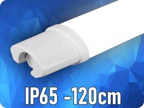 LED Voděodolná lampa 36W, 120 cm, 3000Lm, IP65 (Barva světla Studená bílá 6400K)