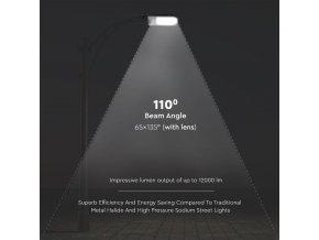 30W LED pouliční svítilna, 3000lm, 110°, SAMSUNG chip