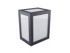 Nástěnné LED svítidlo 12W (750lm),černé, IP65, 3000K (Barva světla Studená bílá)