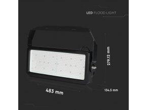 250W (30000lm)  LED reflektor, adaptér Meanwell, Samsung chip, 60°