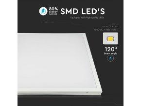 LED PANEL 25W (4000lm), ČTVEREC (Barva světla Studená bílá 6400K)