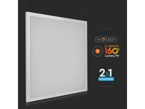 LED PANEL 25W (4000lm), 160lm/W, 120°, ČTVEREC