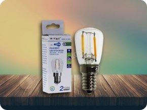 E14 Led Retro Filament Žárovka 2W, St26 (Barva světla Studená bílá)