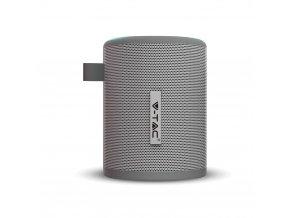 Přenosný BT reproduktor 5W, micro USB, 1500mAh baterie, 5V, šedý