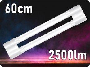 LED svítidlo Shoplite Nano, 18W (2500lm), 60cm, NANO plast (Farba svetla Studená biela  6400K)