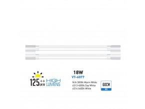 LED SVÍTIDLO SHOPLITE 60cm (Farba svetla Studená biela)