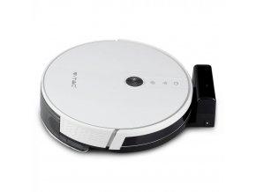 Robotický vysavač 1800PA, nabíjení 5hod, 14,4V, 2500mAh, výdrž 100 min, bílý