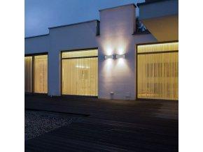 3W LED schodišťové světlo, šedé, IP65