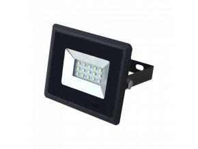 21977 10w led reflektor e series smd cerny modre svetlo