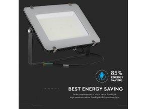 200W LED reflektor, 120lm/W, (24000lm) černý, Samsung chip