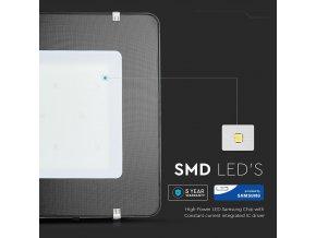 400W LED reflektor, 120lm/W, (48000lm) černý, Samsung chip (Barva světla Studená bílá 6400K)