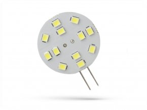 Spectrum LED žárovka G4, 2W, 12LED, 12V, 30mm