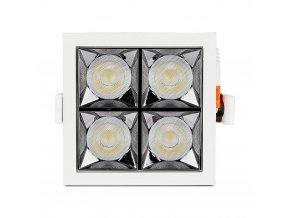 LED reflektorové svítidlo 16W (1280lm), Samsung chip, 38° (Barva světla Teplá bílá 2700K)
