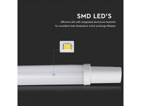 LED Voděodolná lampa 36W, 120 cm, 3000Lm, IP65, 2+1 gratis!