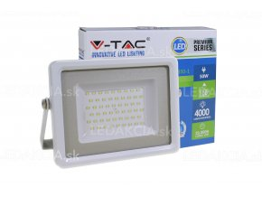 Vt-4850, Led Reflektor, 50W, 4000 Lm, Bílá (Barva světla Studená bílá)