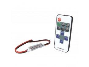 Ovladač pro LED pásek RF mini 5V-24V, 6A