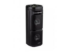 30W Nabíjecí reproduktor na kolečkách s mikrofonem, dálkové ovládání, RGB světlo, výdrž 2-4 hod