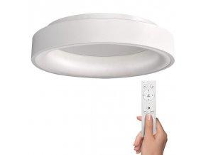Solight LED stropní svítidlo Treviso, 48W, 2880lm, stmívatelné, dálkové ovládání, kulaté