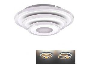 Solight LED přisazená světlo Cascade, malé kulaté, 27W, 1485lm, 3000-6500K