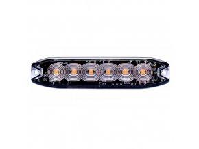 LED výstražné světlo 6xLED, slim