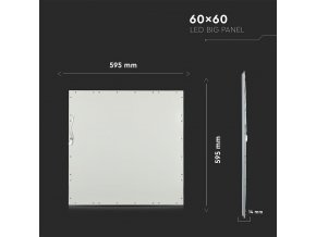 Led Panel, 45W, 60X60Cm, Ugr19
