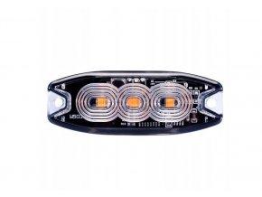 LED výstražné světlo 3xLED, slim