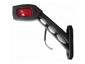 LED obrysové světlo (zadní/přední/boční) LD-518, 12/24V, 0.4/0.2W, levé