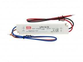 2706 mean well napajeci adapter pro led aplikace 18w 1 5a