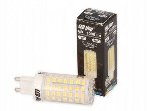 LED žárovka G9, 12W, 1080lm, LED line