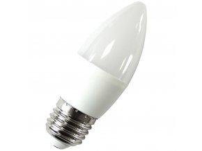 LED žárovka E27, 1W (90-100LM), svíčka